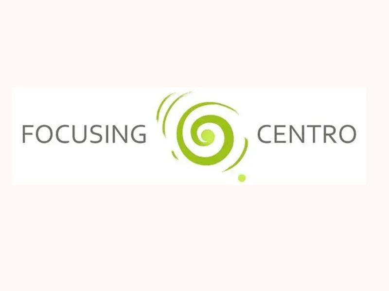 focusing centro design icon logo