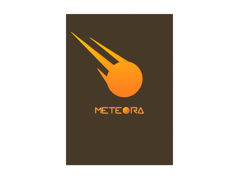 meteora  logo vector illustration logo design icon logo diseño