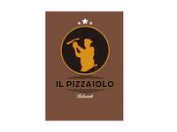 il pizzaiolo food restauracion restauracion branding vector tipografia typography icon diseño