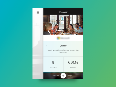 Lunchit web app