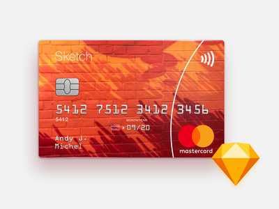 Sketch Mastercard Freebie mastercard template ui sketch fintech money freebie finance credit card credit card bank