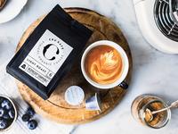 CRU Kafe packaging shoot