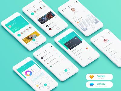 Payments ui application and digital wallet ui bank app cash back app ui design