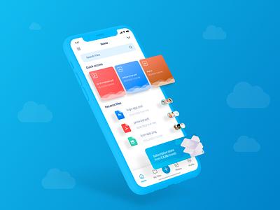 SkyBox - Storage App ui kit ui  ux skybox galery album drivers driver brazil sketch uplabs uxdesign uidesign ui storage app dropbox storage