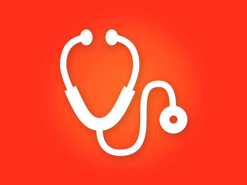 Stethoscope Icon icon medical stethoscope