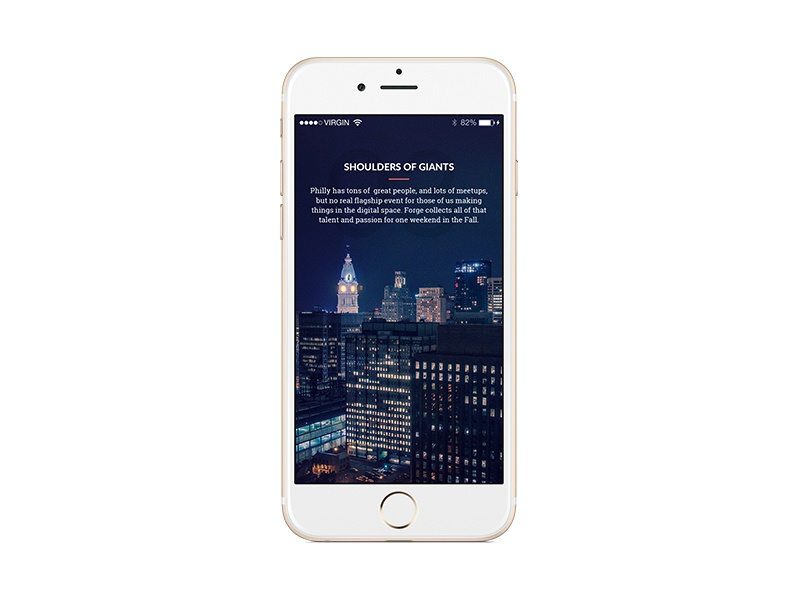 Mobile Case Study Screen - Forge skyline case study mobile philadelphia