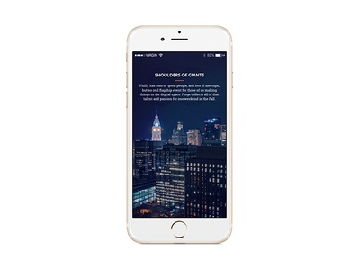 Mobile Case Study Screen - Forge skyline case study mobile philadelphia