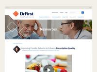 DrFirst Page Design
