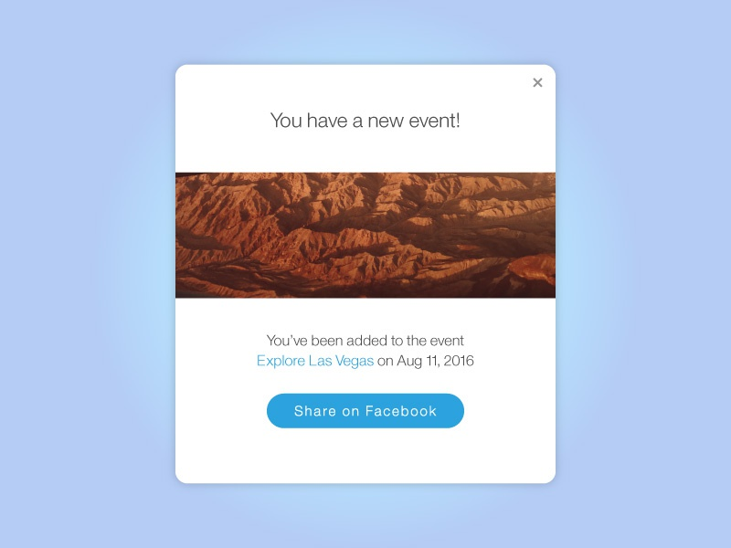 Missing Las Vegas 010 dailyui las vegas button share on facebook event modal