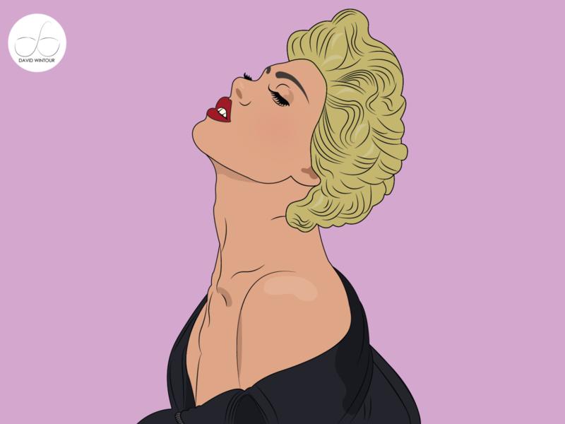 DRAG 3 animation art typography logo vector portrait illustrator design illustration flat