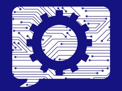 Service Request logo concept 2