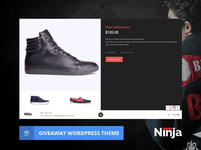 (Giveaway) Ninja - Woocommerce WordPress theme