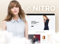 "Let's welcome the charming ""eCommerce"" girl... Nitro."