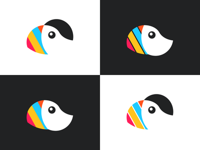 Bird logo variations figma animal flat illustration design graphic design logo