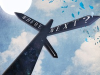 Where Next? - Magazine front cover