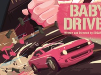 Baby Driver Poster 2