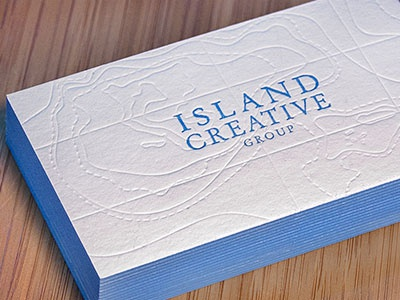 Island Creative Business Card