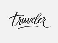 Traveler Lettering