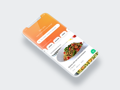 Lunch break dishes restaurants tabs search iphonex ios mobile food