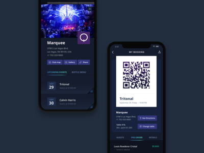 Nightlife App nightlife party booking ticket event
