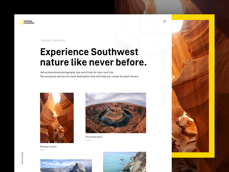 Southwest Exploration nature travel photography layout photo blog travel photography natgeo national geographic