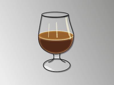 Day 7 - Beer glass beer 100daychallenge vector illustration