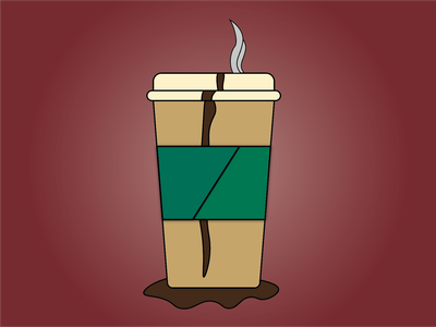 Day 10 - Coffee coffee cup coffee drink 100daychallenge design vector illustration