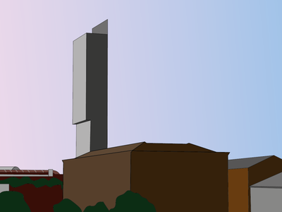 Day 11 - Beetham & Granada cityscape manchester beetham tower 100daychallenge design vector illustration