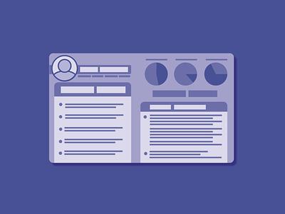 Day 18 - User Persona user profile persona 100daychallenge design vector illustration
