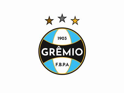 Grêmio branding logo ux illustration vector design
