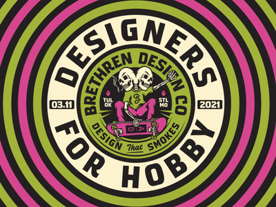 Zoom Talk with ADCT design thinking design talk speaker craft beer lettering packaging beer apparel identity logo badge illustration branding typography
