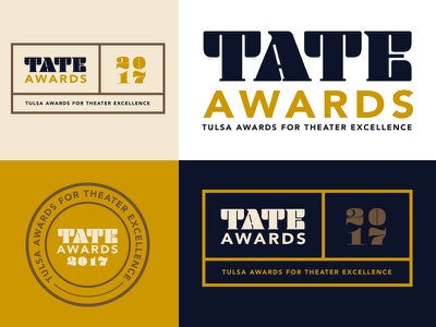 Tate Board colorway awards logo typography identity