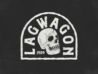 Lagwagon Chest Badge