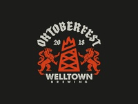 Welltown Oktoberfest Badge