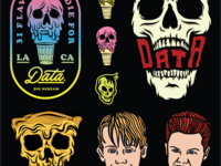 Data Crew flash sheet