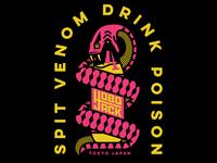 Spit Venom Drink Poison