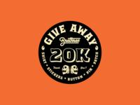 20k giveaway