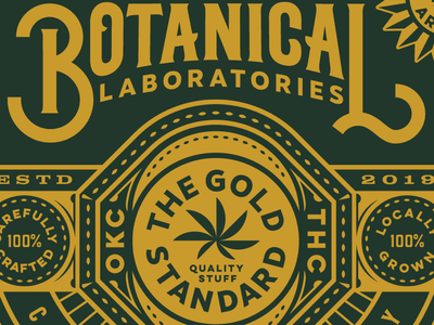 Botancial Labs Badge