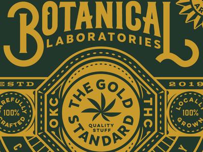 Botancial Labs Badge