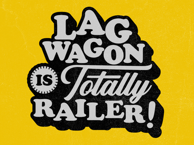 New Lagwagon Merch typography type apparel merch fat wreck punk rock lagwagon