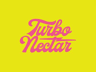 Turbo Type package design beverage logo nectar branding turbo hops beer lettering typography type