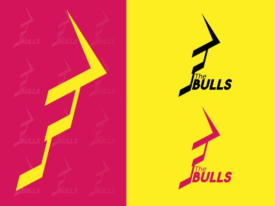 The Bulls design identity design logo