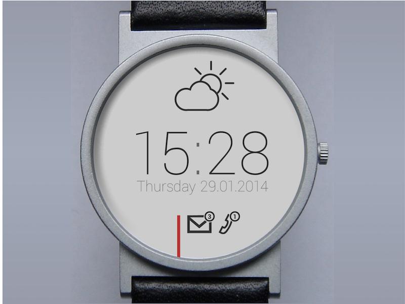 E-Ink Smartwatch UI ui watch smart smartwatch braun