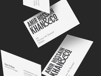 AHK&Co. Business Cards