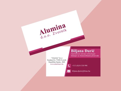Business card chemist jobs icons chemistry engineering engineer technology company logo business back side front side contact design logo color job alumina pink factory company