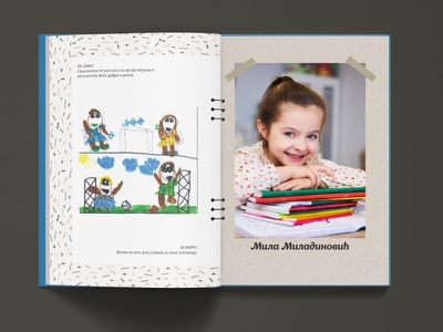 Book_children beige font design school memory picture pattern kids draw kids colors draw drawing learning books young girl girl children school