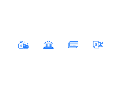 Billing Icons credit card bank pricing payment invoice icon set icons money billing digitalocean