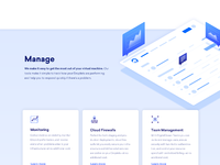 Manage spot web