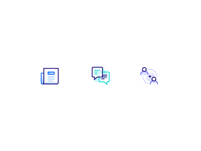 Community Icons servers droplets cloud computing developer community meetups conversation forum tutorials icon set icons community digitalocean
