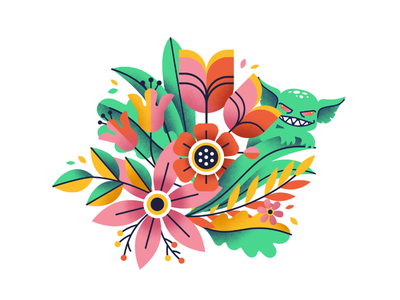 Mother's Day for Gremlin foliage flowers gremlin mothers day